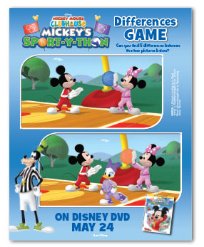 Mickey Mouse Clubhouse Mickey S Sport Y Thon Comes To